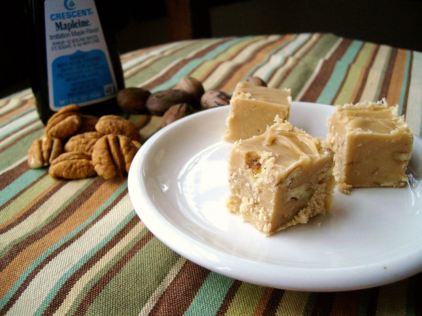 The Foodie RD: Maple Pecan Fudge