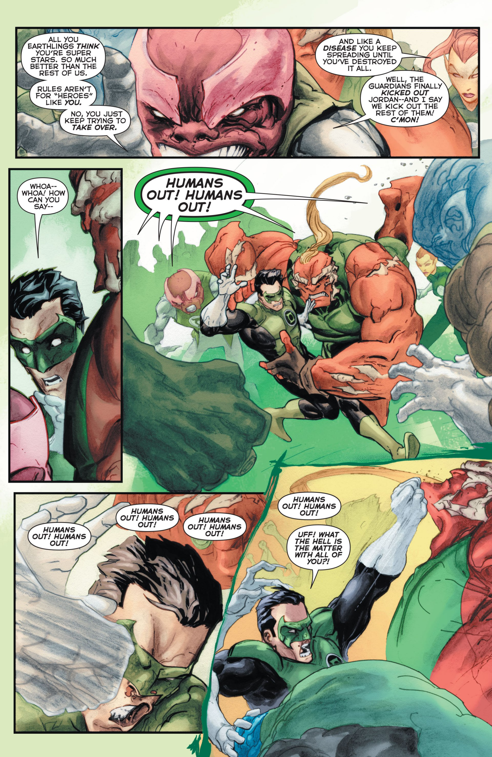 Read online Green Lantern Corps (2006) comic -  Issue #63 - 15