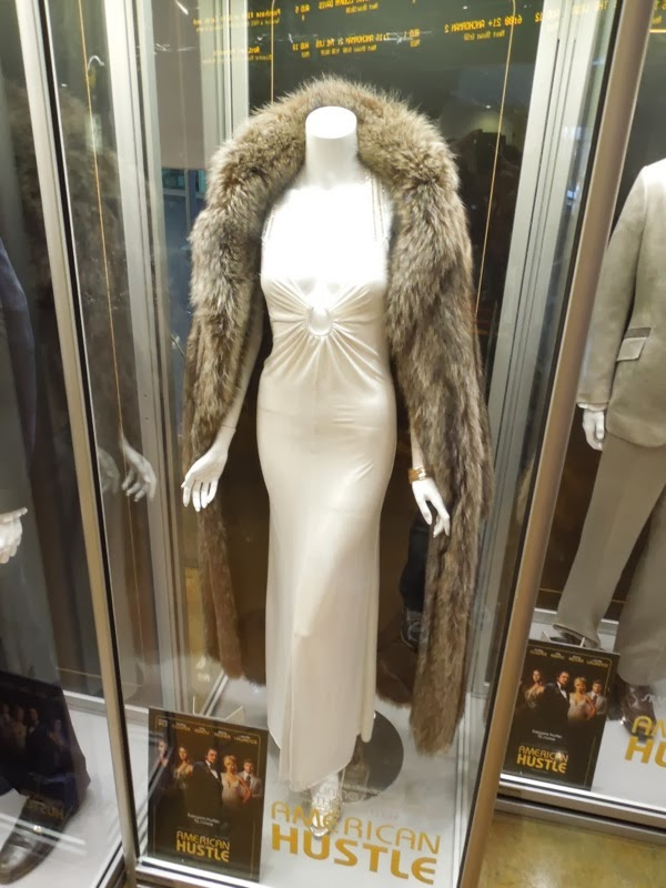 Jennifer Lawrence Rosalyn Rosenfeld American Hustle dress fur