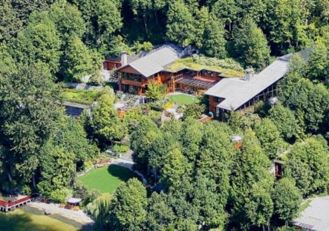 Gambar Rumah Mewah Bill Gates
