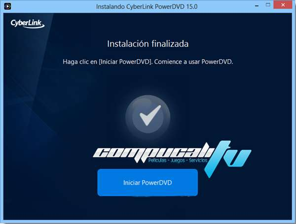 PowerDVD 15.0.1727 Ultra Español CyberLink Reproductor HD