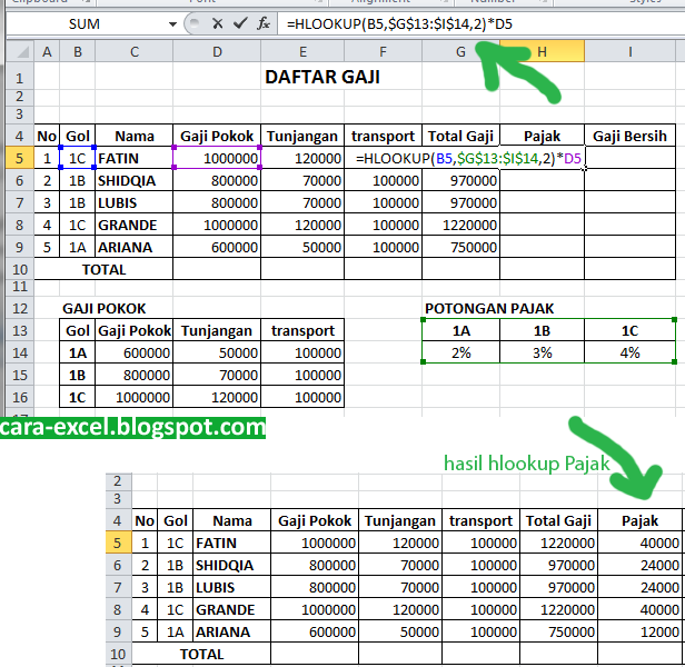How To Use Vlookup And Hlookup In Excel 2007 Pdf - vlookup