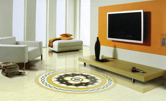 Vitrified Tiles Flooring Or Marble Flooring Interior Decorating Idea
