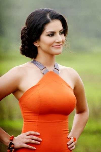 Sunny Leone in Beautiful Dress