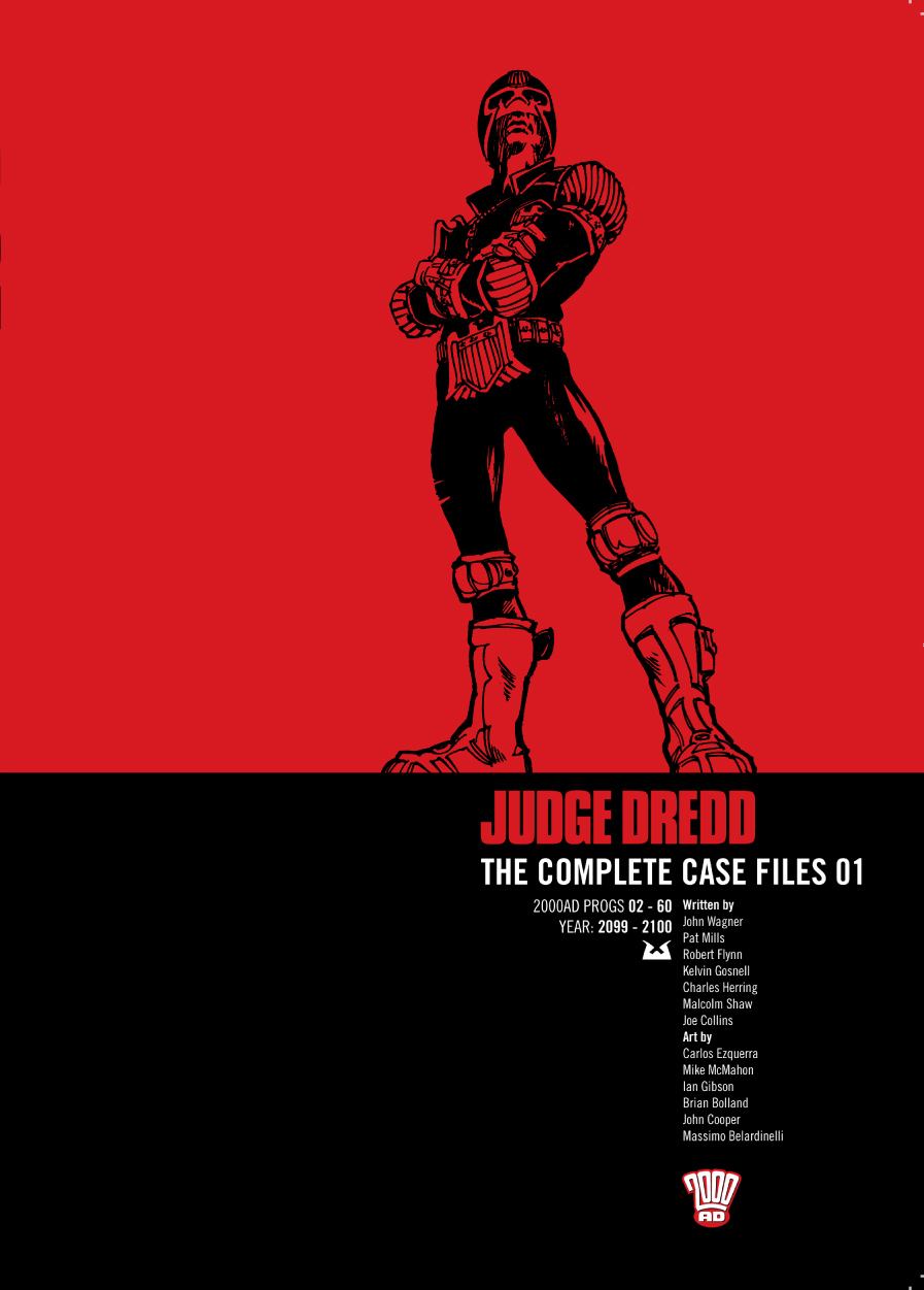 Judge Dredd: The Complete Case Files issue 1 - Page 1