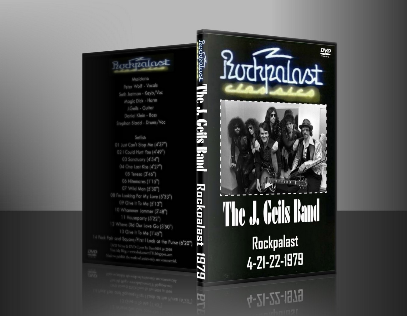 Power by quot deer 5001 quot j geils band 1979 live in rockpalast