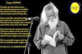 Pengertian Puisi Ode Menurut Para Ahli