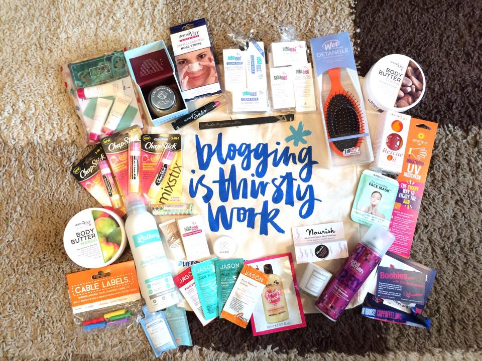 Events: West Midlands Blogger Meet Goody Bag