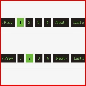 Site pagination