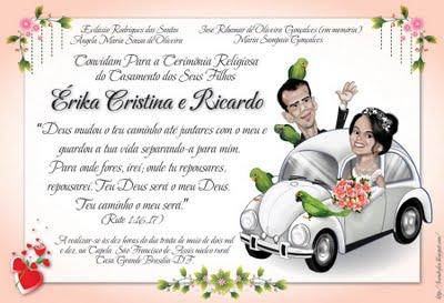 Convites convites de Casamento casamento