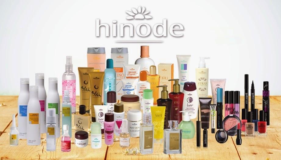Hinode - Cosméticos, Perfumes Importados, Cremes, Gel Redutor de Celulites, + 300 produtos