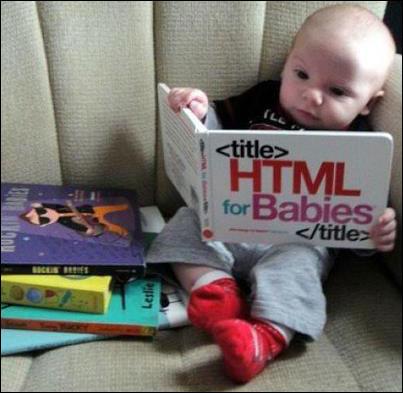 طفل يقراء كتاب html
