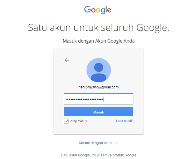 3 Langkah Cara Terbaru Membuat Account Googel Plus Dengan Mudah