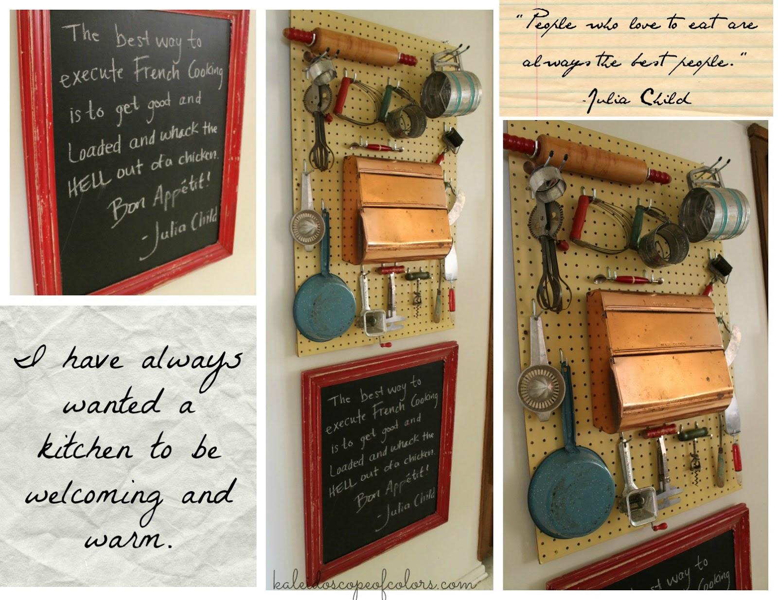 Wall Decor For Kitchen Pinterest : Kaleidoscope of colors thursday s treasure retro kitchen
