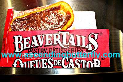 Chocolate Hazelnut BeaverTails pastry, International Franchise Expo 2015