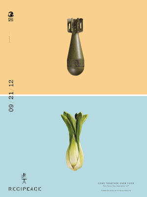 Make food.. not war ! : recipeace creative advertising