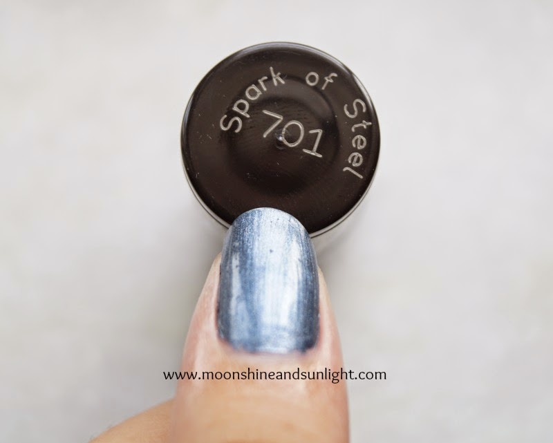 , Spark of steel, Maybelline Colorshow Bright Sparks in Spark of Steel swatches and review