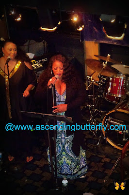 Maysa performing during Smooth Jazz Smooth Cruise Encore Angela Bofill Tribute Experience