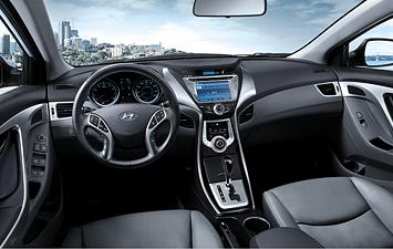 Stylish Car And Interior 2012 Hyundai Elantra Review