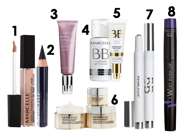 Nouveautés, lancement, 2013, printemps, marcelle, revival, or, maquillage
