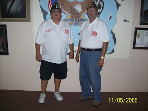Post Commander Randy Lopez and 1st Vice Don Segura