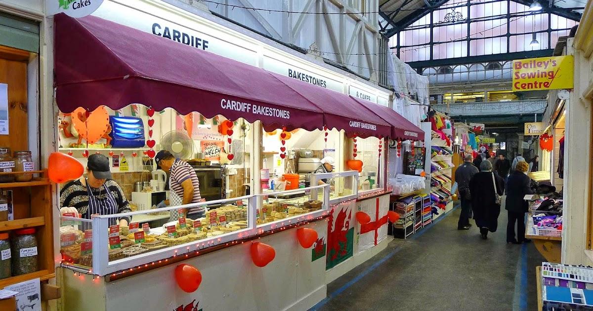 Welsh Cakes Cardiff Market