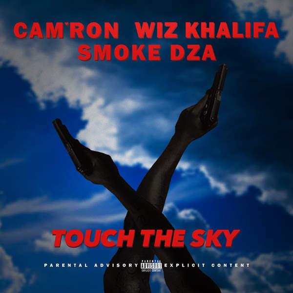Cam'ron - Touch the Sky (feat. Wiz Khalifa & Smoke Dza) - Single Cover