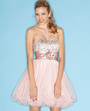 Speechless Dress, Strapless Sweetheart Sequin Glitter Ruffled Tulle