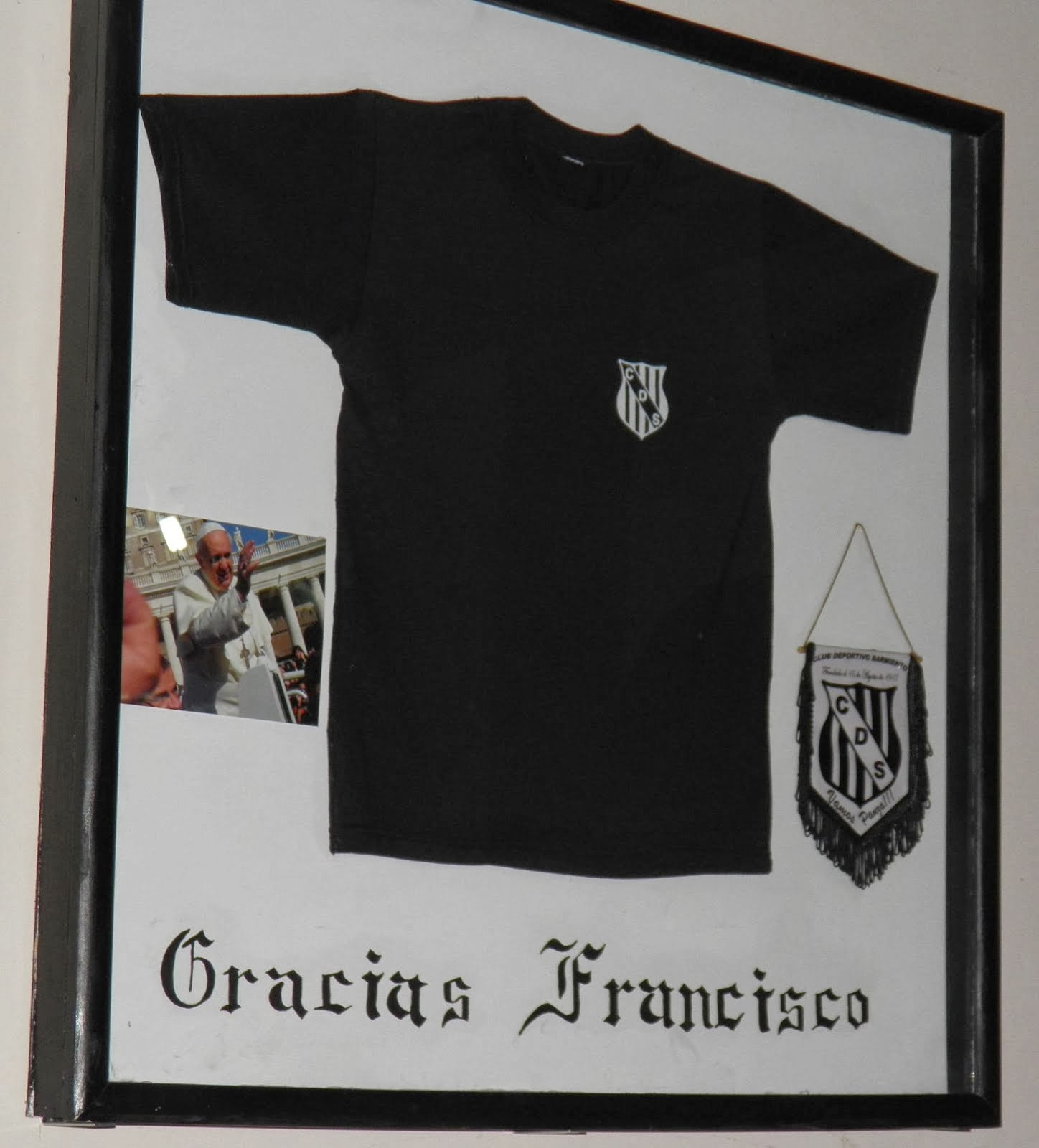Francisco I, Bendice a nuestro Club