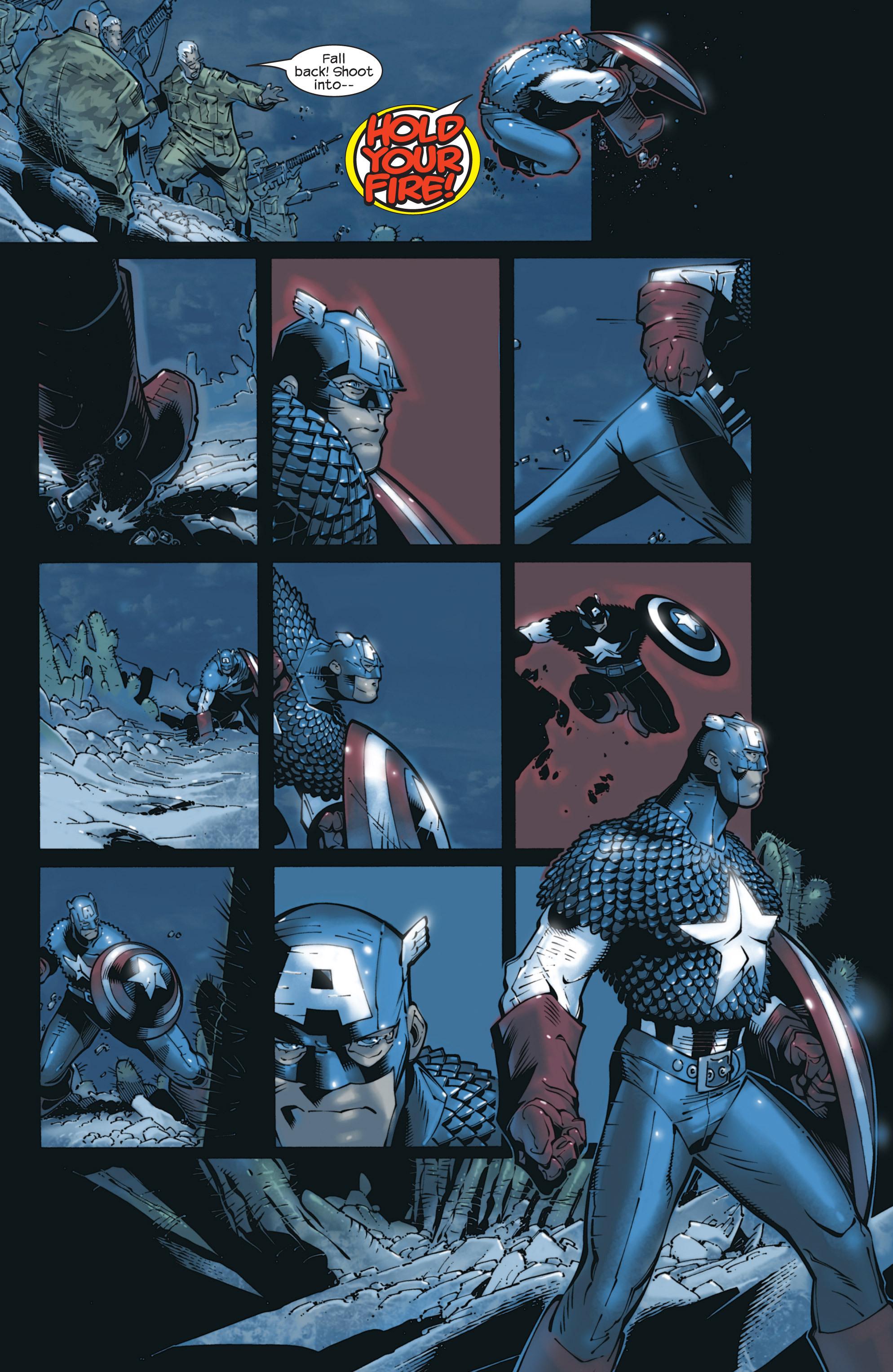 Captain America (2002) Issue #23 #24 - English 7