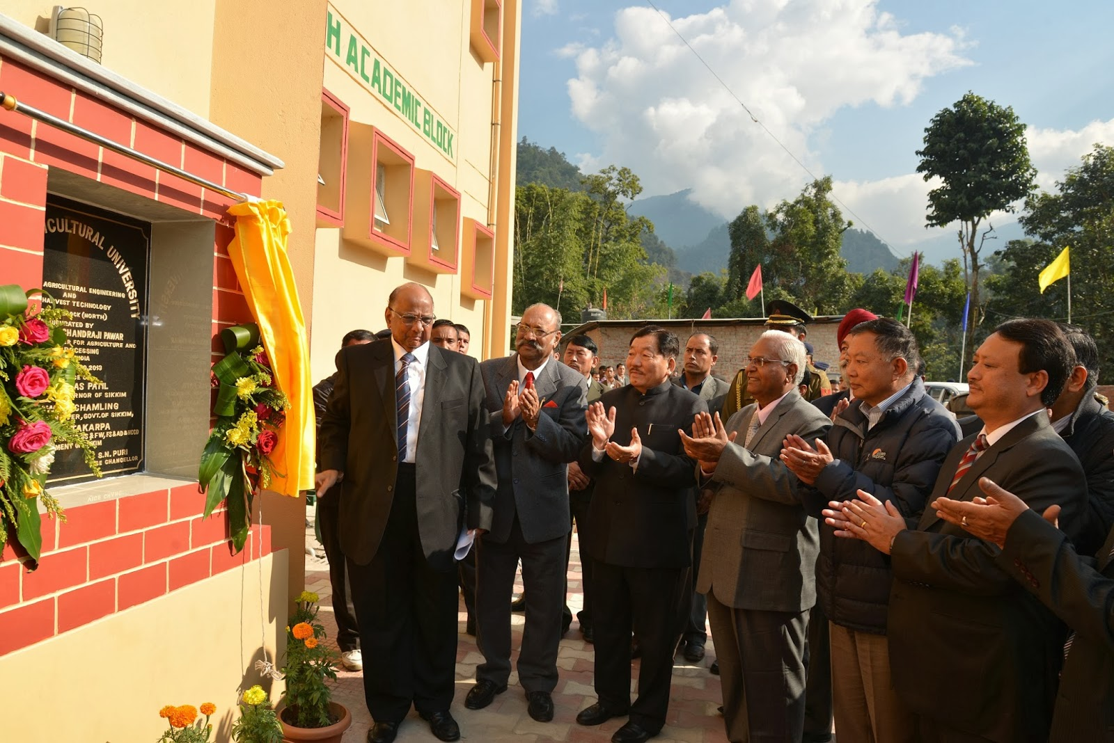 Sikkim Now Union Agri Minister Inaugurates Caepht North Block