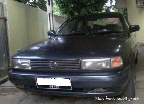 Dijual - Nissan sentra 1991. Iklan baris mobil gratis