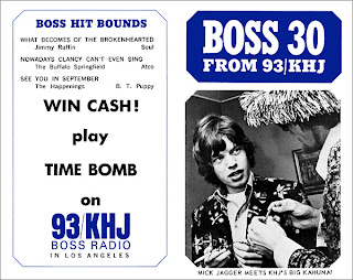 KHJ Boss 30 No. 57 - Mick Jagger with The Big Kahuna