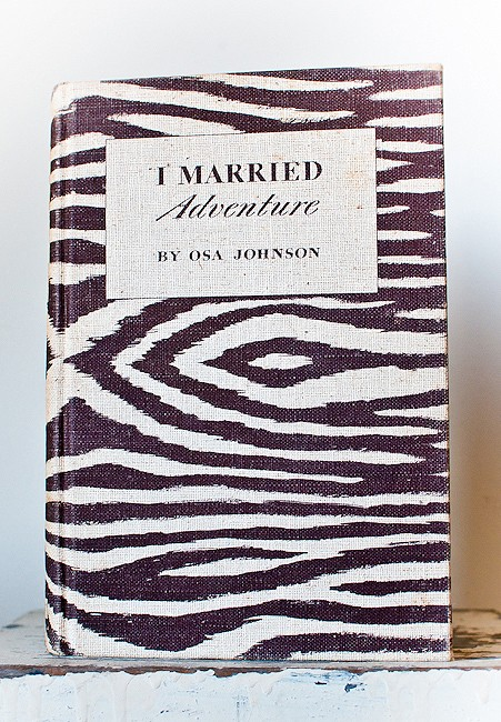 I Married Adventure by Osa Johnson Zebra Cover