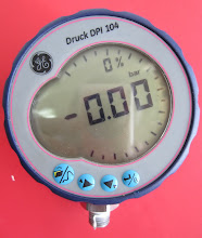 PRESSURE DIGITAL TEST GAUGE DRUCK DPI 104 # 1.000 PSI