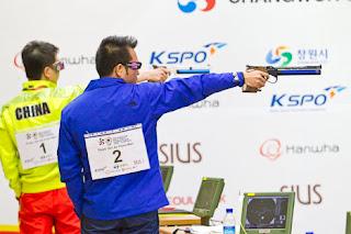 Xuan Vinh Hoang - Vietnã - Pistola de Ar 10m - Copa do Mundo ISSF 2013 - Tiro Esportivo