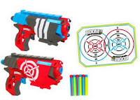 Buy Boom Dual Defenders Blaster, Multi Color at Flat 68% Off :Buytoearn