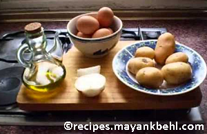 authentic Spanish Omelet/ Tortilla española recipe