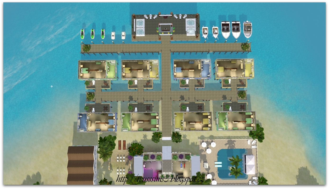 My Sims 3 Blog Color Beach Resort Amp Spa By IvuS