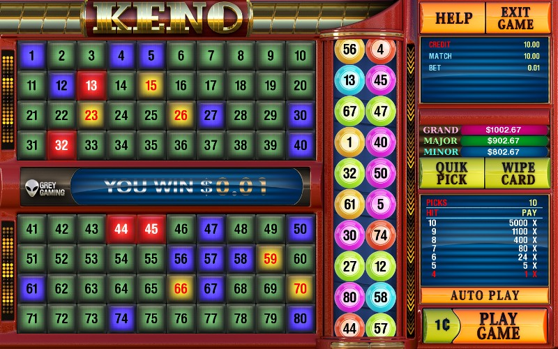 superball keno slot machine download