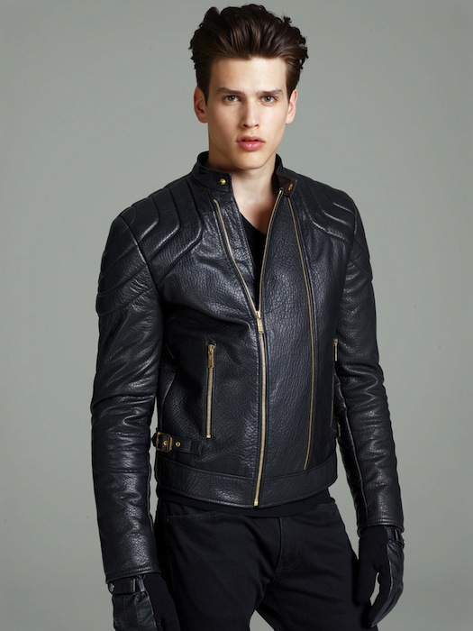 Male Model Simon Van Meervenne for Versace F/W 2012-2013