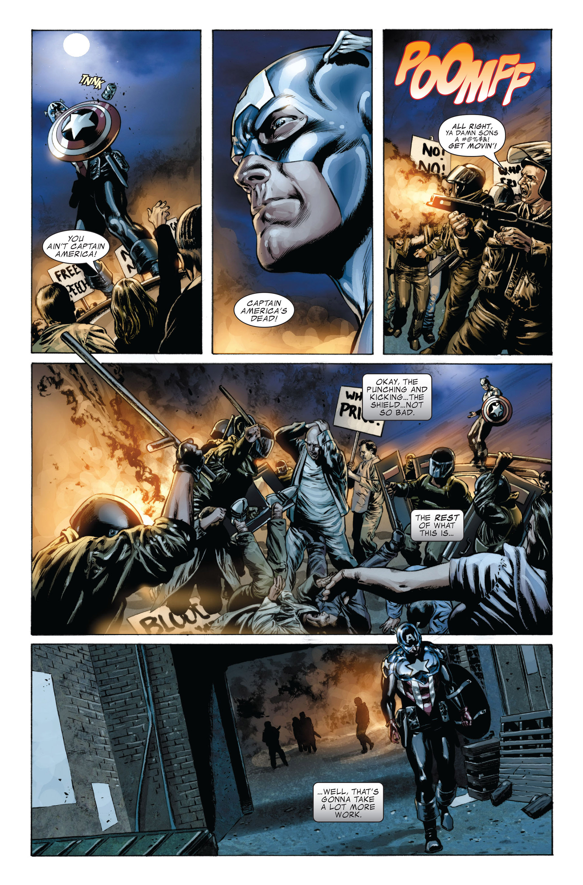 Captain America (2005) Issue #36 #36 - English 18