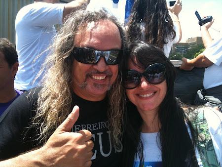 Cid Guerreiro e Marta Lança na Marcha para Jesus em Belo Horizonte