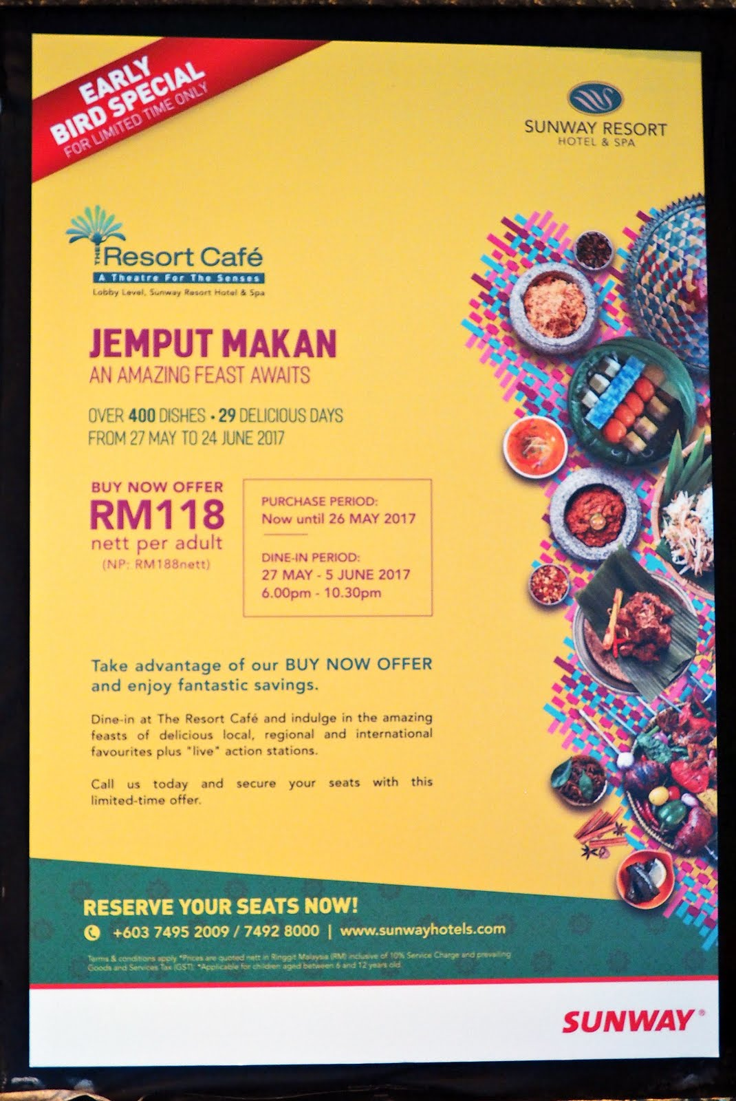 follow me to eat la - malaysian food blog: ramadan buffet 2017 at