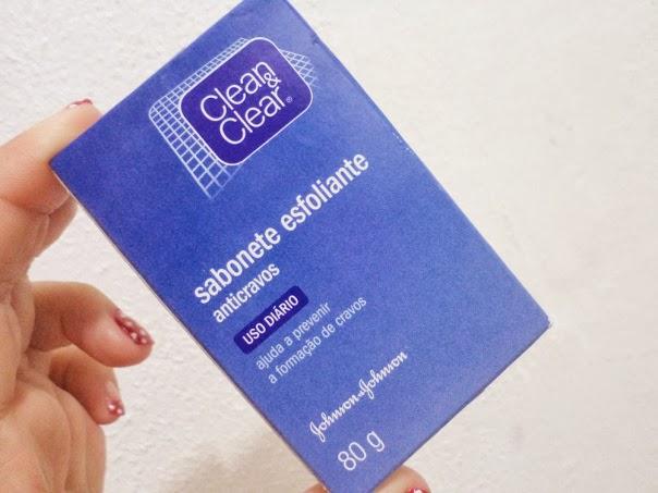 Sabonete Esfoliante facial Clean & Clear