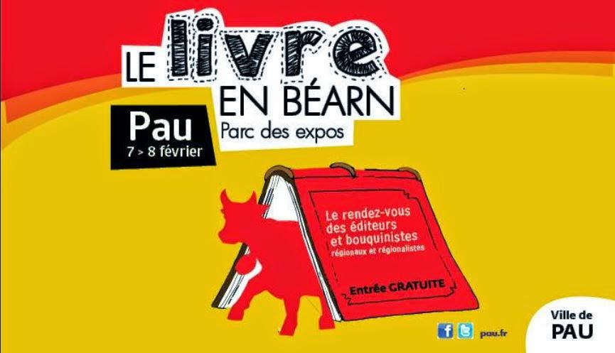 Salon du livre en b arn 7 et 8 f vrier 2015 foire for Salon du livre de pau