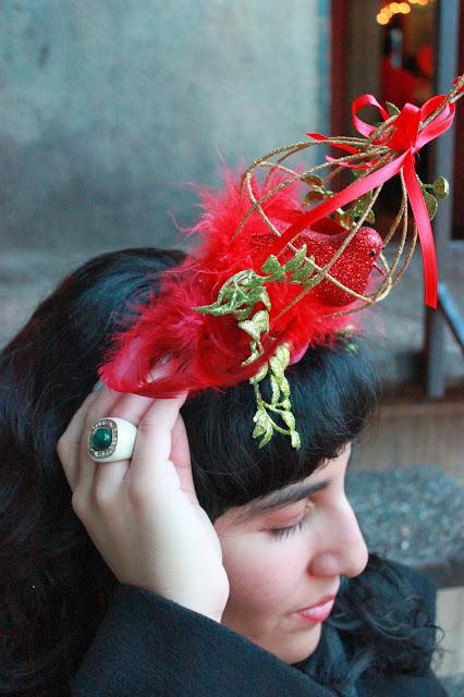 Christmas Bird Headband