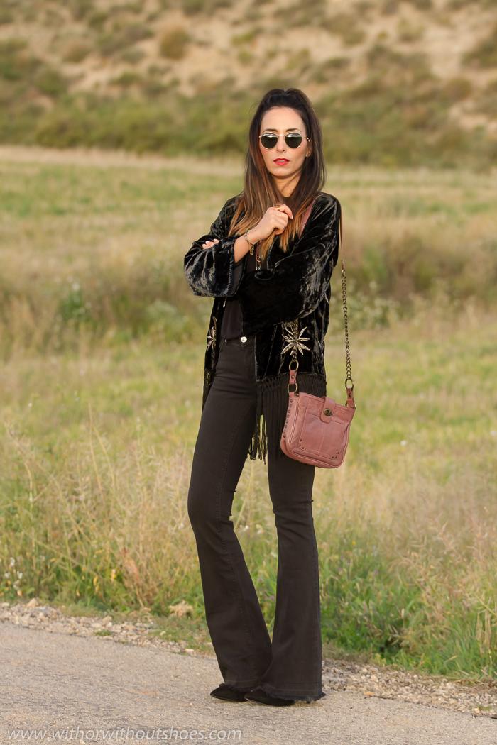 BLogger de moda de Valencia con estilo boho chic