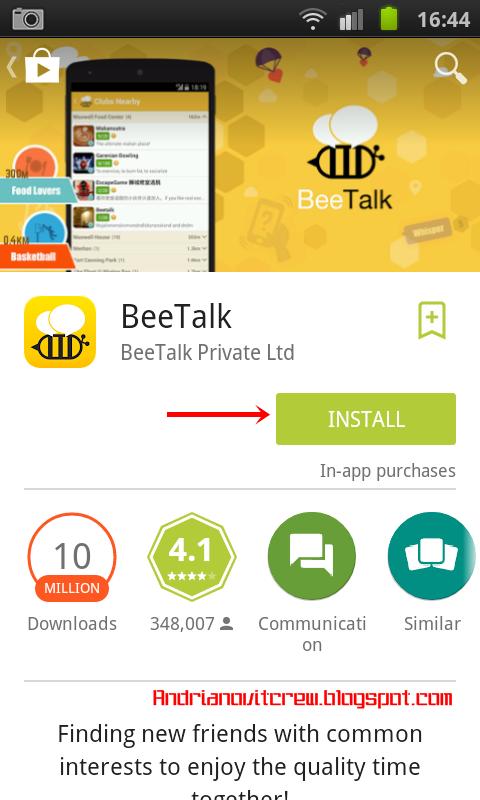 Cara Daftar Beetalk Di Android a