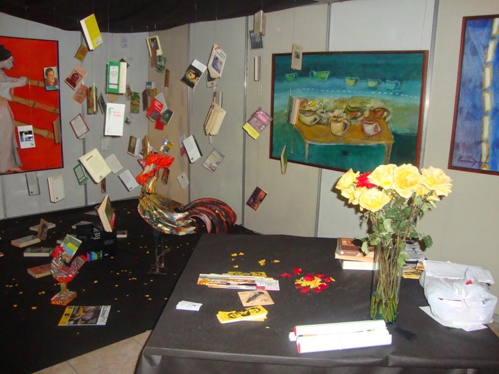 El stand de Apula retracta la puesta en escena de la colección de obras del Nobel García Márquez.